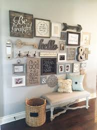 How To Make A Gallery Wall by 23 Rustic Farmhouse Decor Ideas Wall Ideas Gallery Wall And