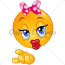 big kiss smiley face