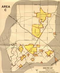 Downtown Dallas Map by Community Fallout Shelter Plan Page