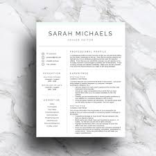 resume paper white or ivory resume template cv 1 2 3 page resume templates creative resume template cv 1 2 3 page resume templates creative market