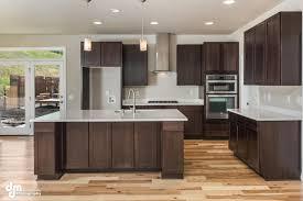breathtaking espresso kitchen cabinets featuring rectangle shape