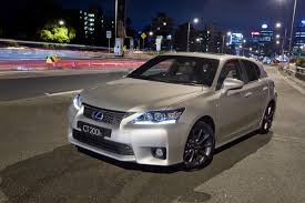 lexus ct 200h f sport edition lexus ct 200h 5 stars rating from euro ncap video