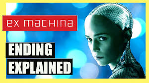 ex machina ending explained spoilers youtube