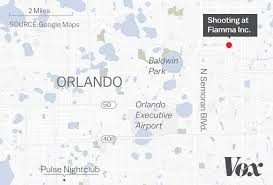 Orlando Florida On Map by Orlando Florida Workplace Shooting What We Know Vox