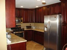 Small U Shaped Kitchen by Kitchen Awesome White Marble Countertops At U Shaped Cherry