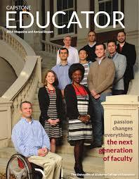 Capstone Educator        by University of Alabama College of     Issuu