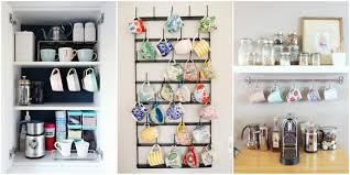 How To Organize Your Kitchen Cabinets by How To Organize Your Coffee Cups Kitchen Coffee Mug Organization