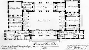 meican hacienda house plans spanish with courtyard lrg baedfdcd