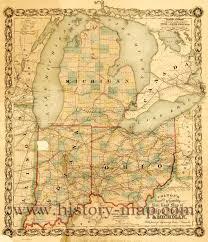 Detroit Michigan Map by Indiana Michigan Map Michigan Map