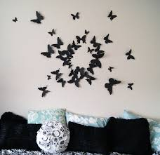 Home Decor Walls Girly Butterfly Decorations Ideas For Wall Bedroom The Latest