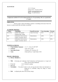 Jobs Freshers Resume Layout by Sample Resume For Freshers Diploma Holders Augustais