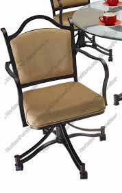 Swivel Dining Room Chairs Tempo Industries Cambridge Swivel U0026 Tilt Dining Arm Chair With
