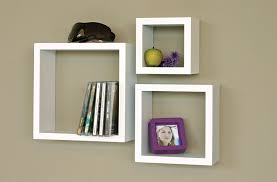 white floating wall shelves set of 3 for your rooms review