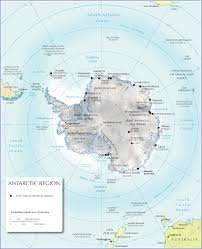 Physical Map Africa by Physical Map Of Antarctica Nations Online Project