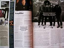 Example of a Kerrang  double page spread Temi Adeniji AS Level Media coursework