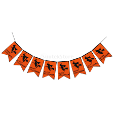 halloween garden flags halloween banner flag flying witch garden lawn party hanging
