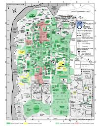 Bc Campus Map Wireless Coverage Ubc Information Technology