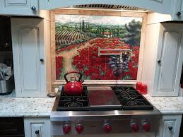 backsplashes tuscan tile murals kitchen backsplash tile murals