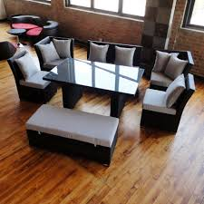 Black Wicker Patio Furniture Sets - unique dining set to sectional sofa now available in black wicker