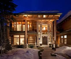 luxury timber frame mountain retreat in whistler idesignarch