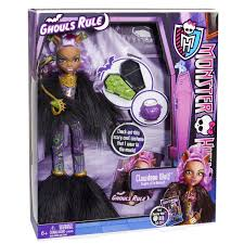 monster high ghouls rule dolls clawdeen wolf halloween costume