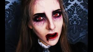Halloween Vampire Look Victorian Vampire Makeup Tutorial Youtube