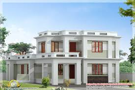 modern house rooftop design 2017 of 3d small plans 4 room sweet