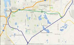 Amtrak Capitol Corridor Map by Sounder To Olympia Is Not Out Of Reach