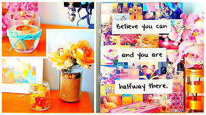 Decorate Your Home For Cheap by Diy Room Decor Wall Art Cheap U0026 Cute Projects And More Youtube