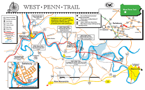 Map Of The Ohio River by Westmoreland Heritage Trail U0026 West Penn Trail U2014 Delmont Pa To