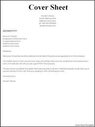 Fax Resume Cover Letter simple cover letter for job application     happytom co