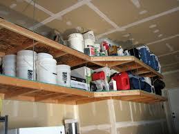 garage shelf design overhead garage storage garage decor and
