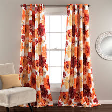 half moon leah window curtains set hayneedle