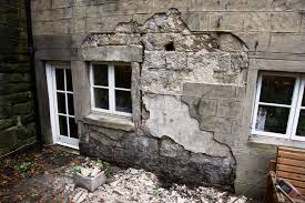Bedroom Wall Gets Wet Damp Problems Caused By Cement Render Trapping Water Into Walls