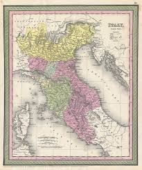 Tuscany Map File 1853 Mitchell Map Of Northern Italy Tuscany Venice