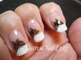 41 most stylish butterfly nail art designs