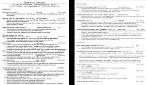 Recent College Graduate Resume Template 100 Recent Cv Sample Of Modern Resume Image Only I Did Not