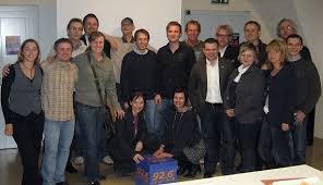 ... Dieter Schneider (ORF Oberösterreich) mittlere Reihe v.l.n.r.: Ulrike Mayr (AK Oberösterreich), Walter Schwung (Life Radio), Silvia Riegler (Life Radio) ... - cityradiorevival-all-together