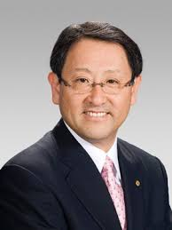 Akio Toyoda headshot It's official – there will soon be a Toyoda back at the helm of Toyota. Akio Toyoda, the grandson of company founder Kiichiro Toyoda ... - akio-toyoda-280