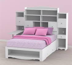 Bookshelves As Headboard by Excellent Bed With Shelving Headboard Headboard Ikea Action