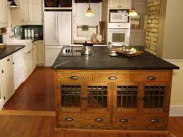 industrial kitchen island shelving