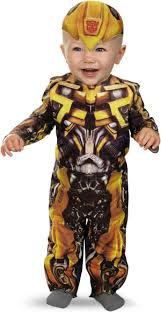 12 18 Month Halloween Costumes Transformers 3 Dark Moon Movie Bumblebee Infant Costume