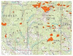 Southern Colorado Map by Region 2 Forest U0026 Grassland Health