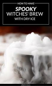 how to use dry ice to make the ultimate spooky halloween punch
