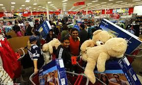 target kindle fire hd black friday thanksgiving night chaos turns to black friday calm as bargain