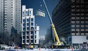 Micro Studio Plan Prefab New York Micro Unit Apartment Building Offers Affordable