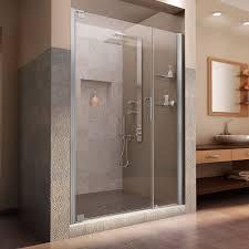 Interior Frameless Glass Door by Dreamline Elegance 46 48 In Width Frameless Pivot Shower Door 3