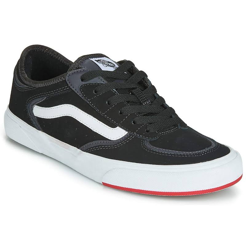 Vans Rowley Classic (Black/Red) Skate Shoes-8.5