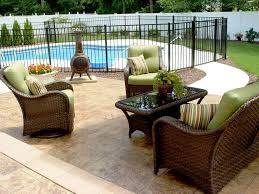 Backyard Cement Patio Ideas by Concrete Patio Designs Pictures Outdoor Concrete Patio Designs