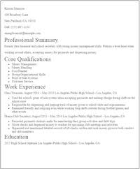 Example Of Resume No Experience by Resume For No Experience 19 Student Resume No Experience Example